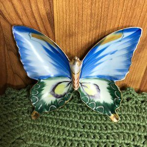 Butterfly Trinket Dish or Wall Decoration
